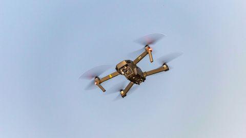 Flying of UAV - Drones